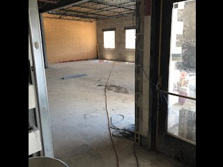 View Into New Office Space