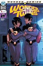 Wonder Twins by Mark Russell, art by Stephen Byrne