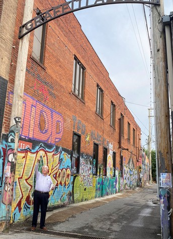 Graffiti Alley - Embracing the Character of Downtown Florence