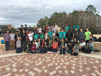 orcas place at florida gulf coast university invitational math competition