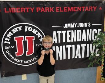 Student Perfect Attendance Winner!