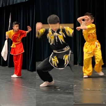 And we had dancers from Soaring Eagle Kung Fu, too!
