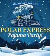 Launching PTA at East Elementary with Polar Express!