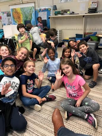 I miss my third graders!