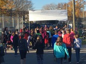 RCK Turkey Trot in Action