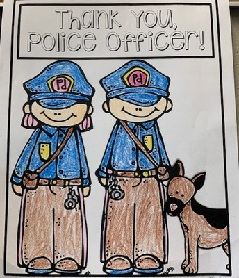 Thank You Police Officer!