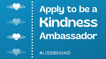 Apply NOW to be a Kindness Ambassador!