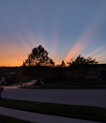 God's beauty shined upon us this week!