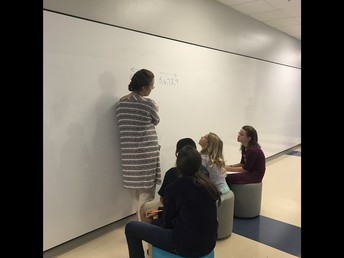 Teaching with our new writable surfaces!