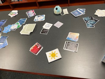 """St. Lawrence County Hospice provided the """"fits"""", cards, and other support material."""