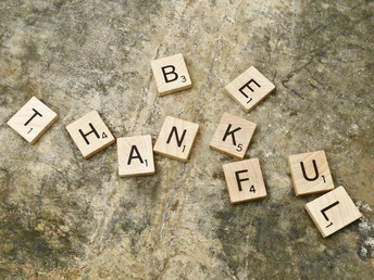 Taking Time to Be Grateful