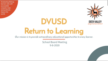 Return to Learning Options