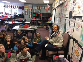 Ms. Underhill's class!