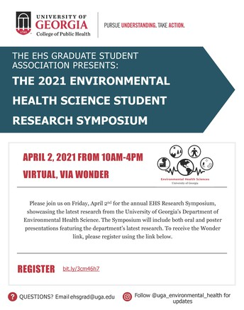 Annual EHS Student Research Symposium