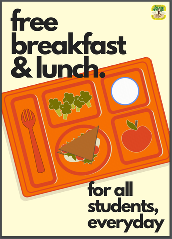Free Breakfast & Lunch For The Remainder of 2020-2021 School Year