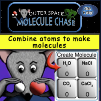 Outer Space Molecule Chase screenshot