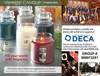 DECA 'Yankee Candle Fundraiser'