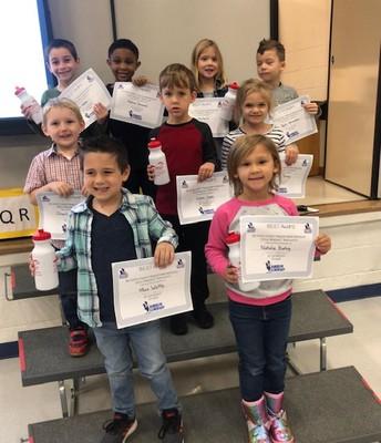 Kindergarten Student who did their BEST!