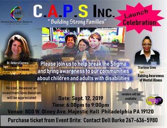 "C.A.P.S. Inc. ""Building Strong Families"" event"
