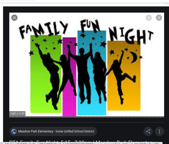 Social Emotional Learning - Family Fun Activities