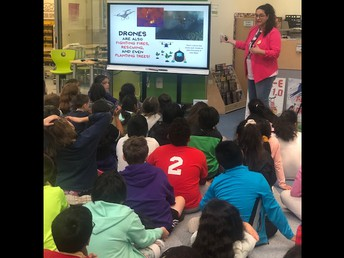 Author Visit at New Leb