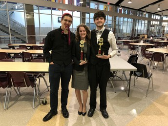 WHS Debate Placed 1st, 3rd, & 6th