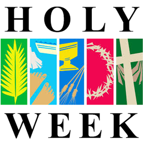 HOLY WEEK RESOURCES FOR FAMILIES