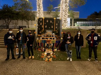 Their altar won first place!