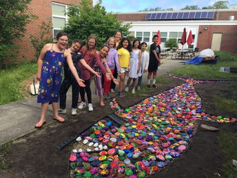 HES celebrates community and diversity with Only One You rock garden