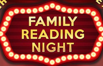 Family Read Night on Tuesday, October 29th! 5:00-6:00