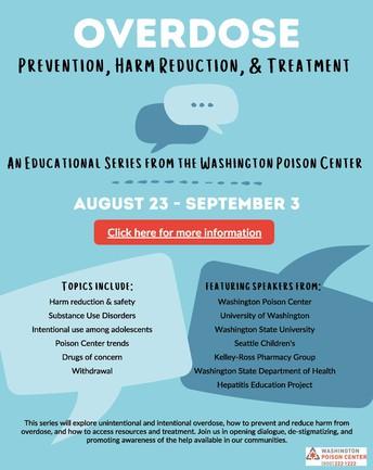 Overdose Awareness Series