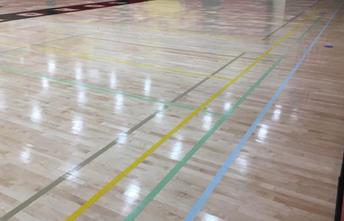 Coronado Gym Floor