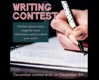Shiloh ES December Writing Contest