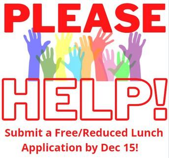 HELP SUPPORT SCHOOL FUNDING! DEADLINE DEC 15
