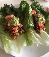 Lettuce Tacos (recipe by Sydney Fazio)