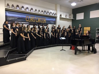 CHMS Non Varsity Treble Choir