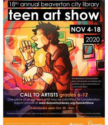 Virtual Teen Art Show