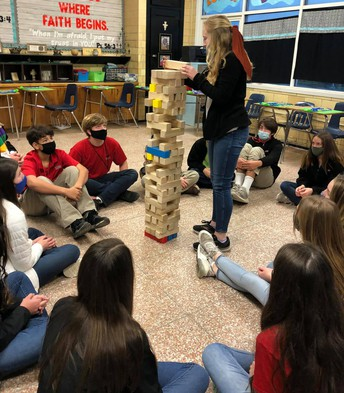 MIDDLE SCHOOL TEAMBUILDING SESSION HELD EARLIER THIS MONTH