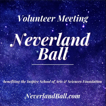 neverland ball volunteer meeting.