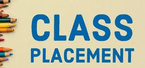 Class Placement for 2020-2021