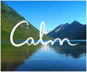 Calm website & app