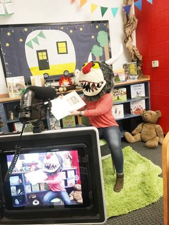 Oakhurst Celebrates Read Out Loud Day with a virtual story time!