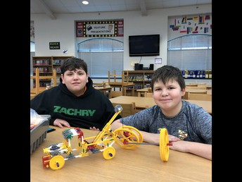 Having fun with Makerspace in the library