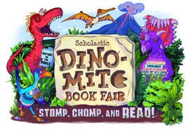 Scholastic Dino-Mite: Stomp, Chomp & Read Book Fair is here!