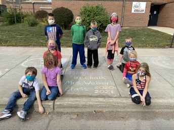 MMN Kindness in Chalk Day