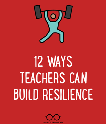 12 Monthly Themes to Build Teacher Resilience
