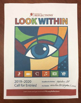 PTA Reflections program applications are available now!