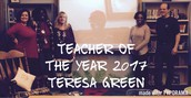 Ms. Green Named TOTY 2017