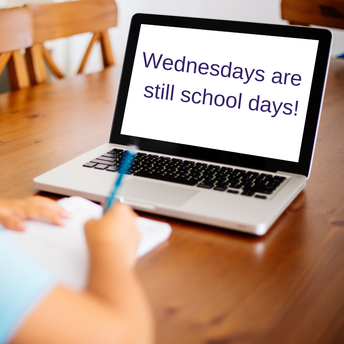 Don't forget to login to your classes on Wednesdays too!