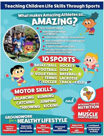 Amazing Athletes at Grace Preschool!